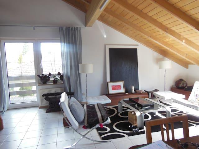 Herrliche Wohnung mit Traumgarten - Laufenburg - Appartement