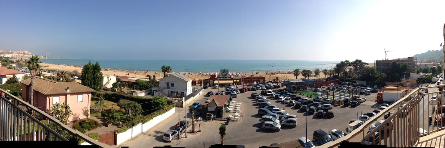 A 50m  de la plage - 3P, 8 lits. - Porto Empedocle - Departamento