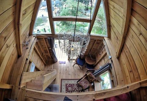 Jardin del silencio cabin