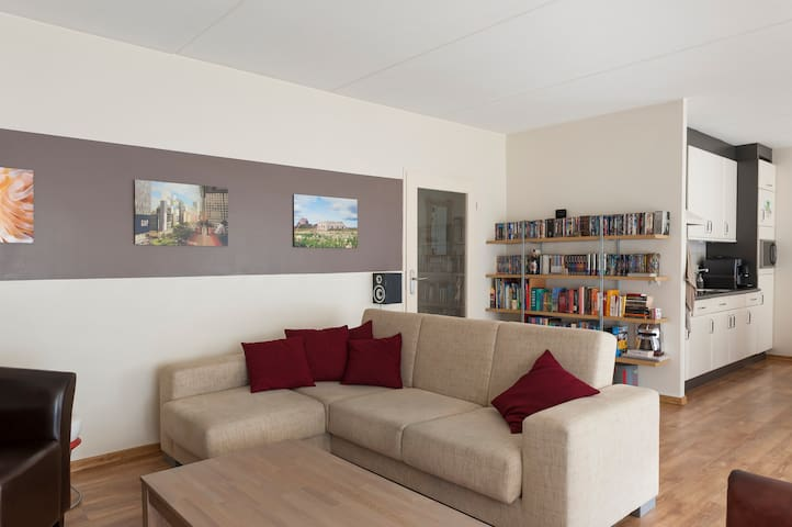 Spacious apartment near city center - Boxtel - Wohnung