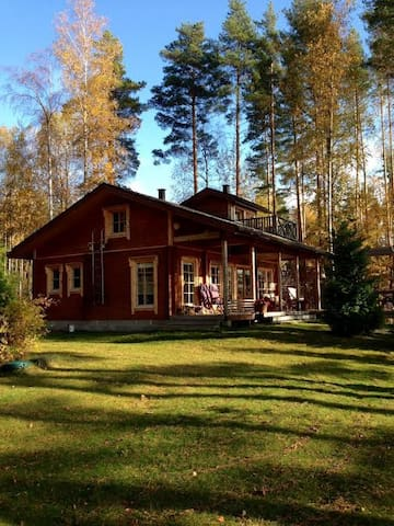 Luxury holiday home at Taipalsaari - Taipalsaari - Hus