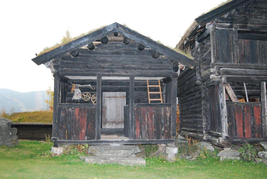 18th century storehouse