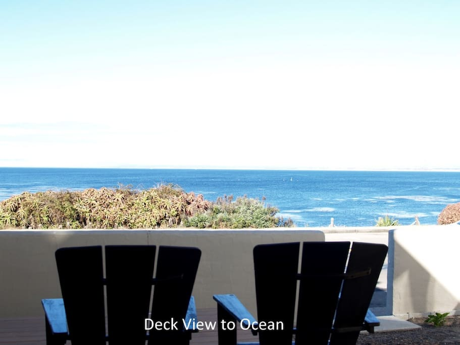 760 OceanView - deck view