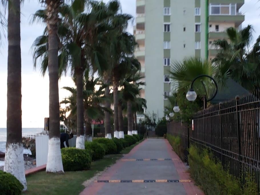 Schöne Promenade