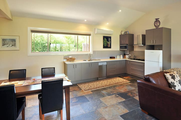 Full kitchen for our guests convenience. A continental breakfast is provided.