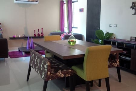 Room at a modern apartment - Villahermosa - Appartement