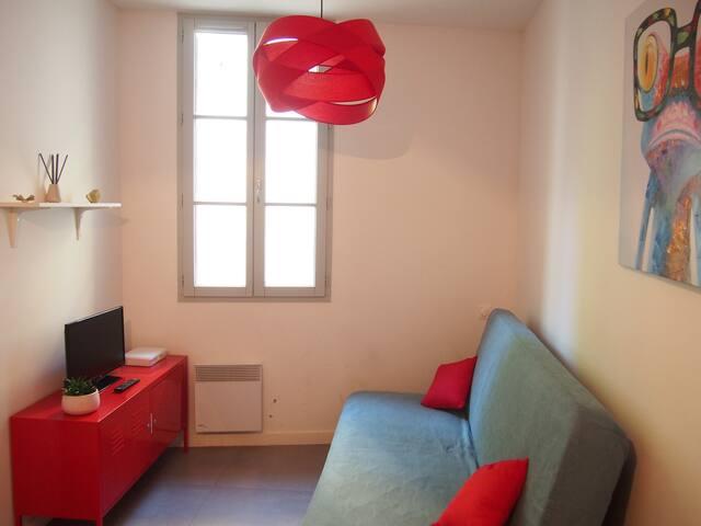 Studio cosy - Situé quartier Ecusson / St Roch