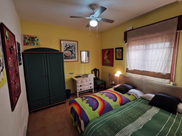 Private Ibiza room with private wc in Cabo de Gata