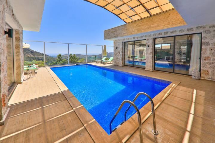 Antalya Kaş İslamlarda 4 Kişilik Villa Narin  8