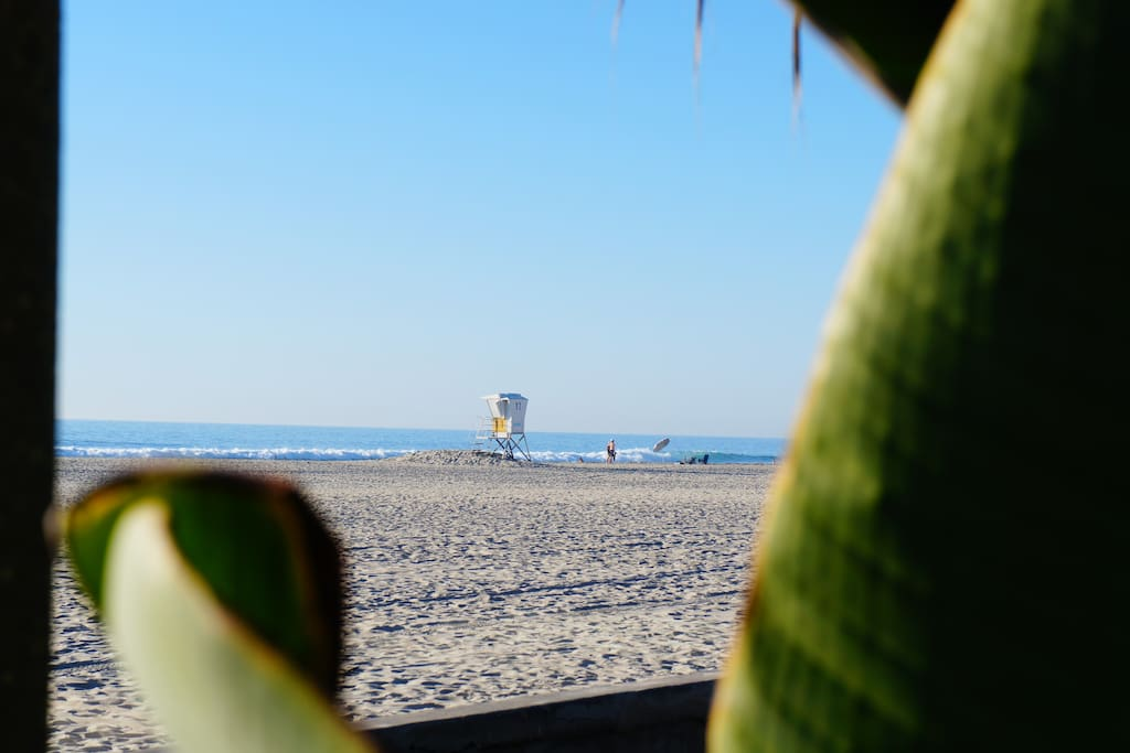 ...and to one of Southern California's most beautiful beaches