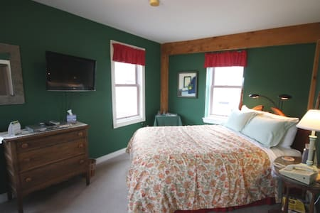 Rm.#6 Maple Hill Farm Inn - Augusta - Hallowell - Oda + Kahvaltı