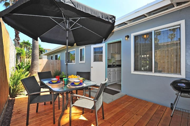 Turtle's Retreat, just 2 blocks from the beach - Del Mar - Casa