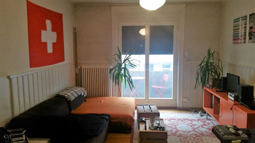 Simple, City room 10mins from Zurich Mainstation - Zürich - Lägenhet