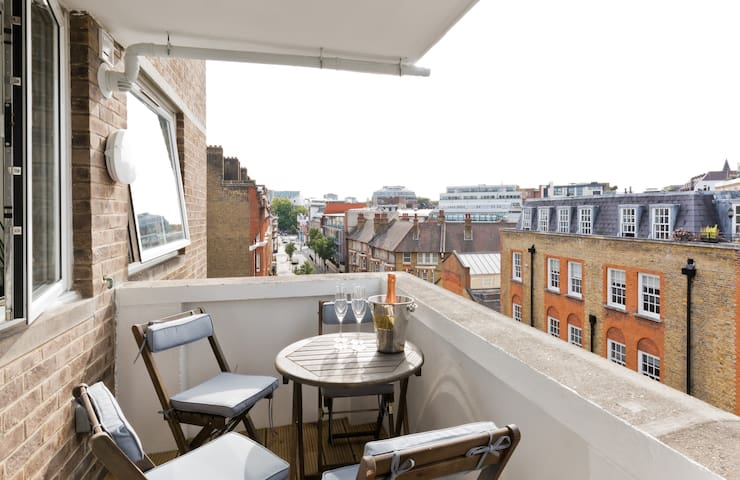 Beautiful apartment in Westminster - BALCONY