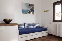 Apartment in villa at the sea