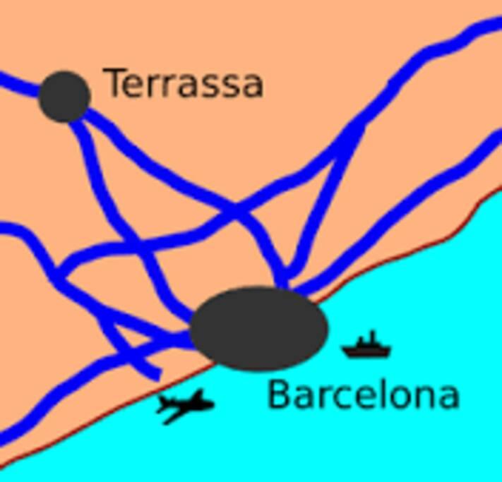A solo 25 min del aeropuerto de Barcelona