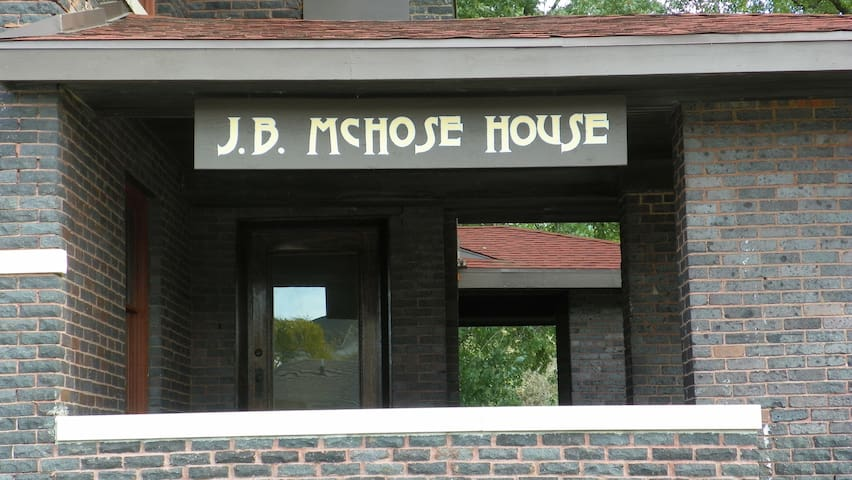 Exterior of the J.B. McHose House