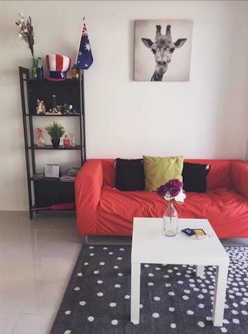 One bedroom in CBD new apartment Convenient!