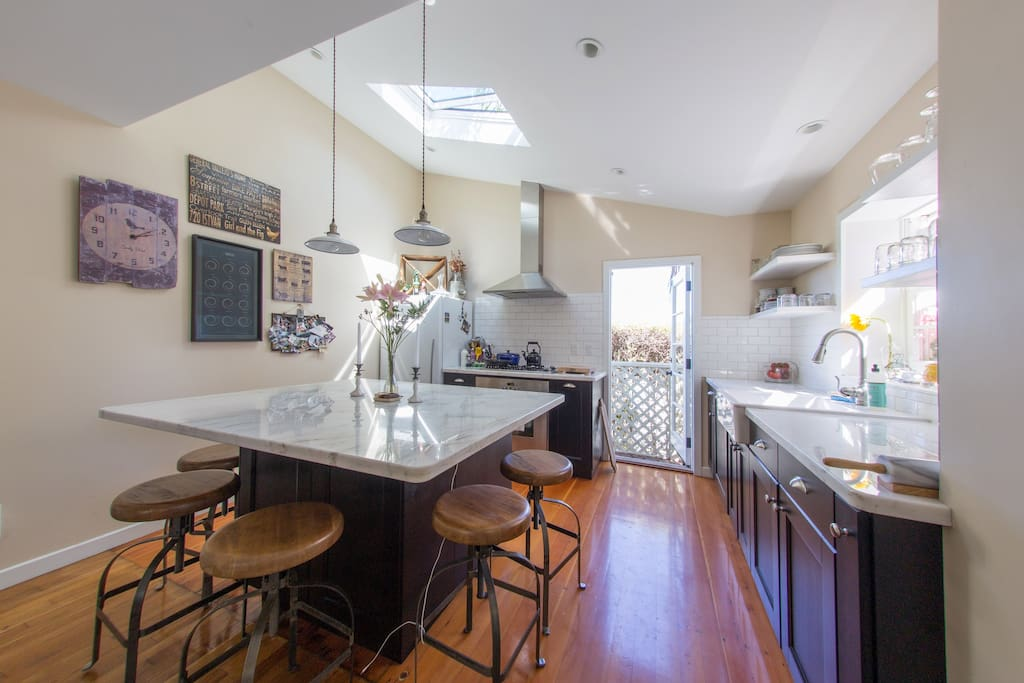 newly remodeled kitchen perfect for entertaining