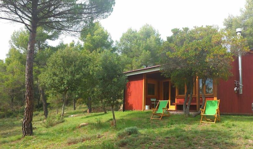 REFUGI de muntanya , casa de fusta - Granera