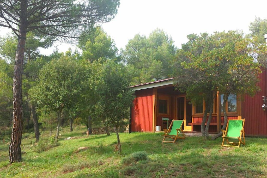 Casa de madera en la monta a 80 min de barcelona - Casas de madera barcelona ...