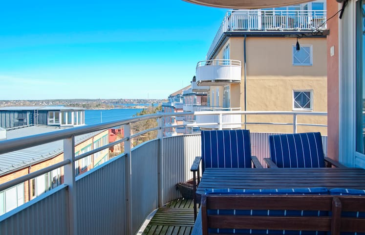 Top Seaside Stockholm Apartment - Nacka - Pis