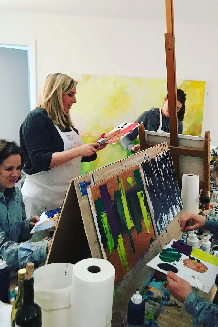 Group classes of up to 6 in my studio