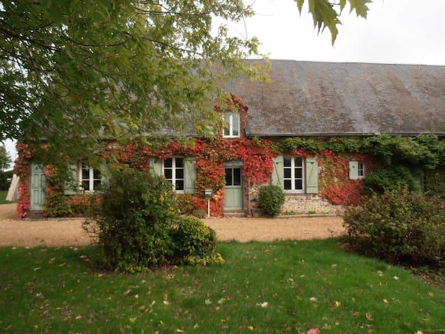 Un gite de charme bien tranquille - Saint-Arnoult-des-Bois - House