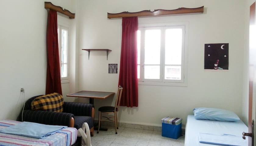 Bedroom in Ashrafieh with nice view