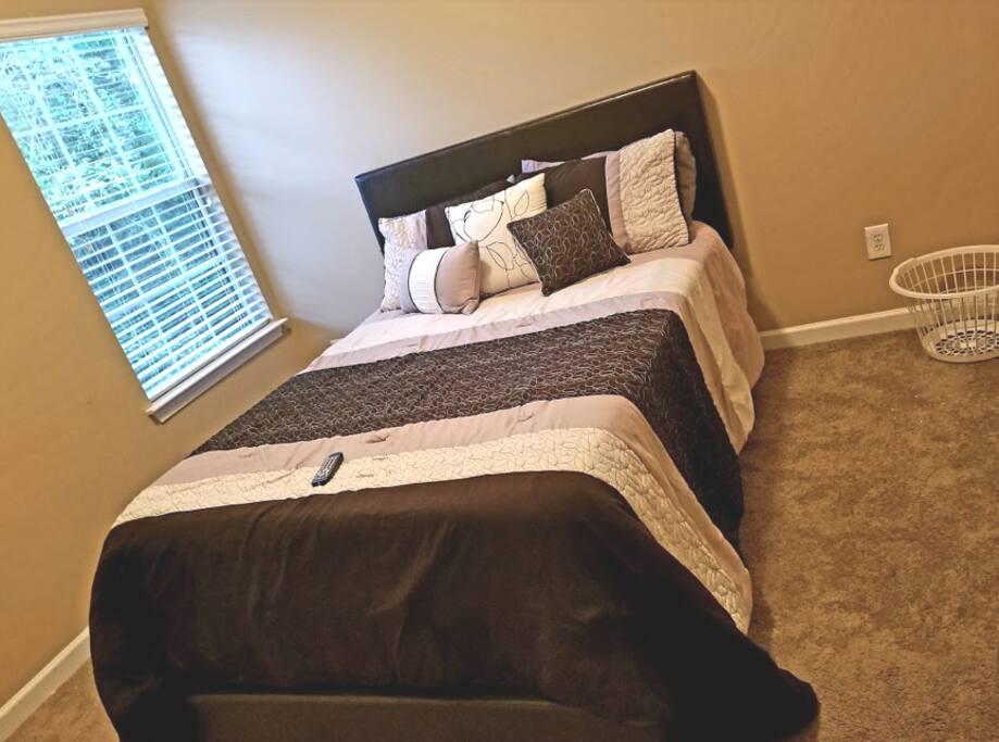 Cozy & Comfortable Bedroom.