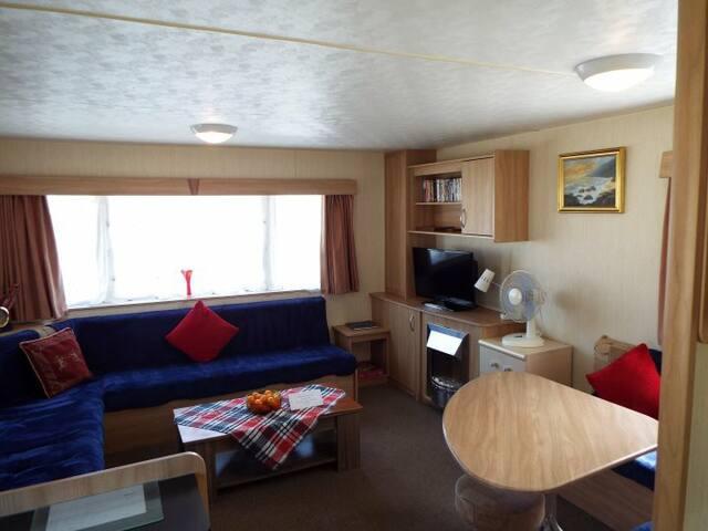 Moana Sunset caravan, Berry Head, Brixham sleeps 6