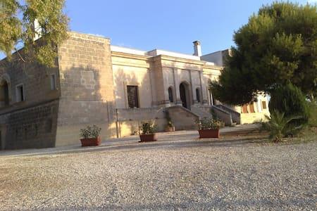 B&B in old Villa near the Ionio Sea - Maruggio - Bed & Breakfast