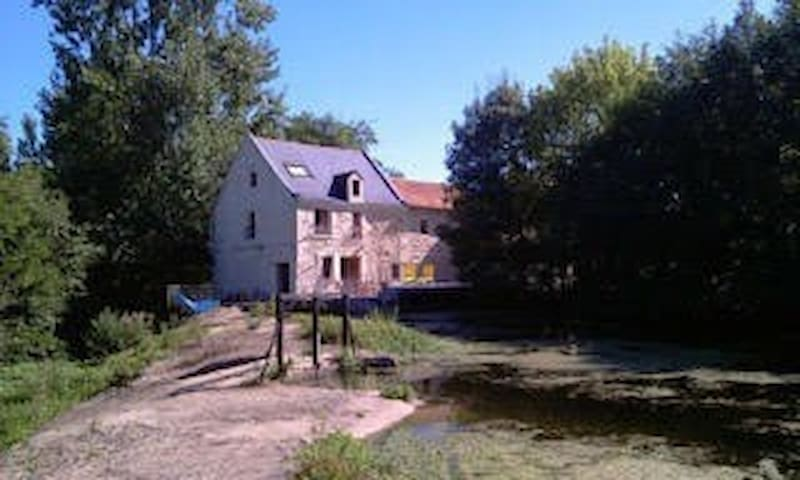 Blanchard Mill on the banks of the Thouet,Thouars - Sainte-Verge - Hus