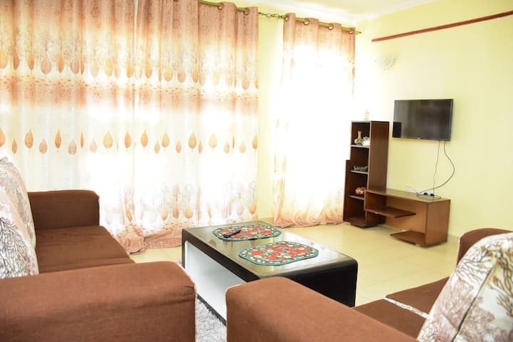 Home feeling apartment in kitengela