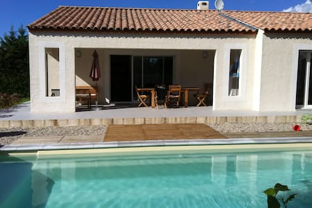 Villa neuve avec piscine au sel - Sainte-Croix-de-Quintillargues - Villa
