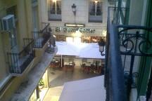 Vistas desde el balcón