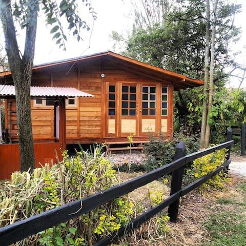 Chalet en madera casa contenta- Finca rural
