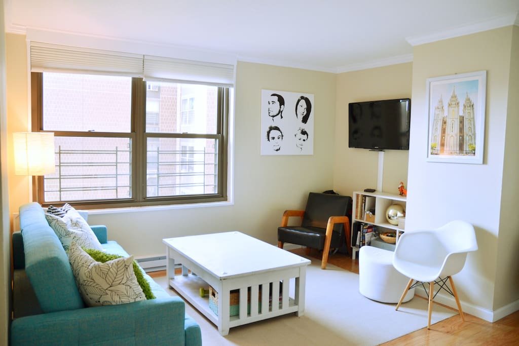 The living room as common shared space