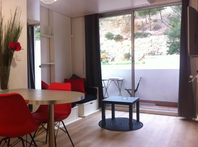Studio residence Cadenelle 13008