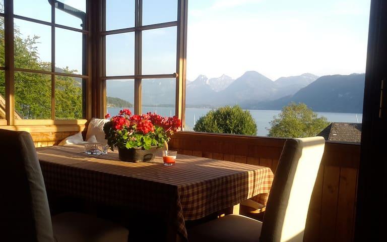 Großzügige DG-Wohnung mit herrlichem Seeblick - Sankt Gilgen