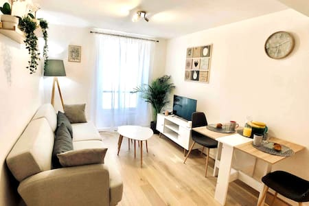 ★★River Banks★★ 2 Rooms Flat near Disney & Paris