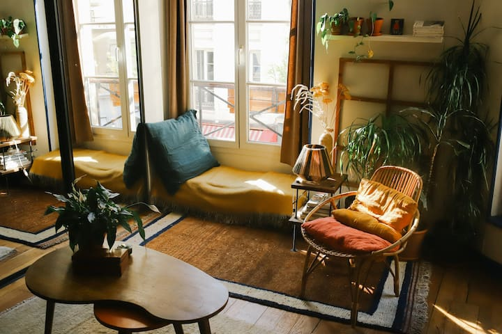 Charming and cosy flat in the center of Paris