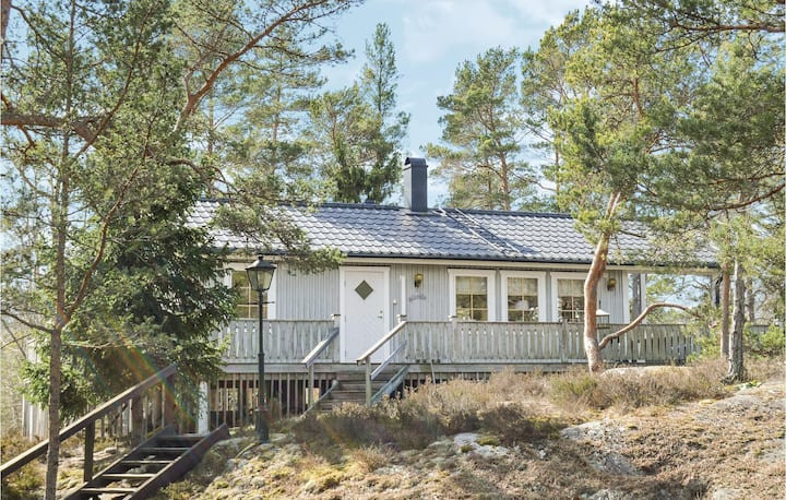 Awesome home in Djurhamn with 3 Bedrooms
