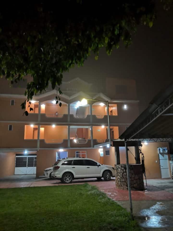 Habitación familiar, 3 personas en Huauchinango