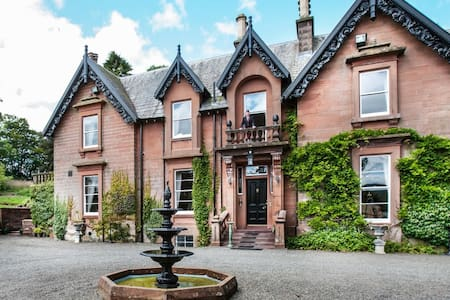 Victorian mansion in Scotland - Moffat