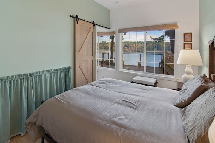 Wake up to this view from the master bedroom.