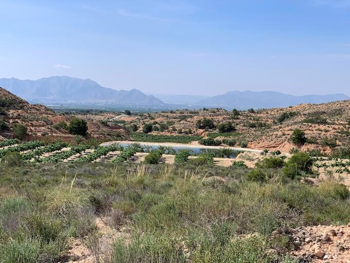 Enjoy great views across the Vega Baja..