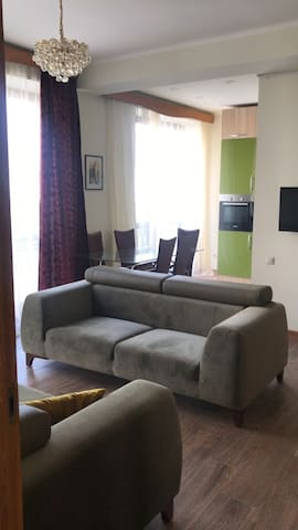 Sunny and new apartment in the center of Yerevan