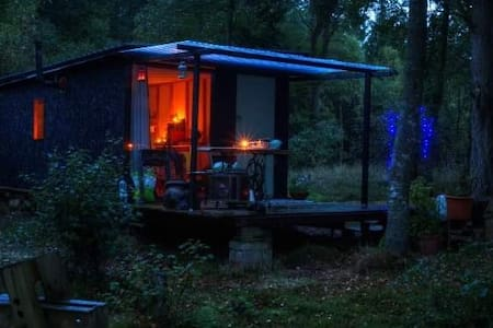 secluded woodland cabin. Kids go free