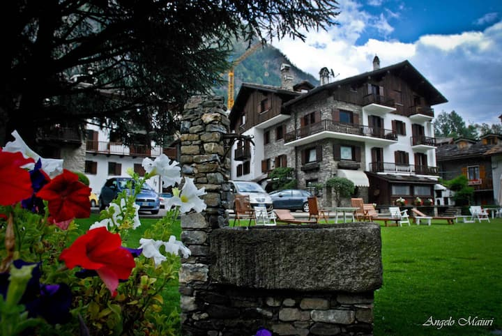 Distinguished apartments and chalet